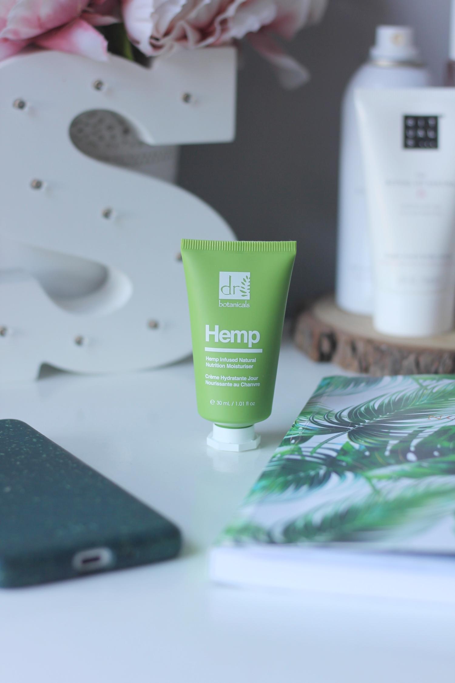 dr botanicals hemp moisturiser